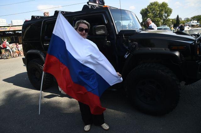 В Тюменской области стартовала эстафета #трицветагордости