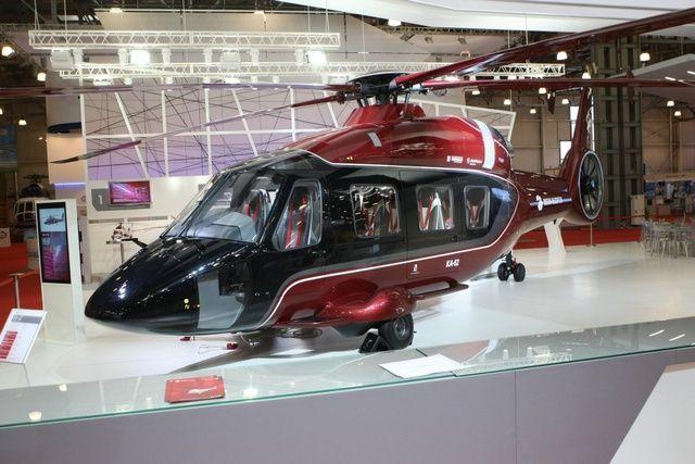 Новый гражданский вертолёт К-62 представят на Восточном экономическом форуме.