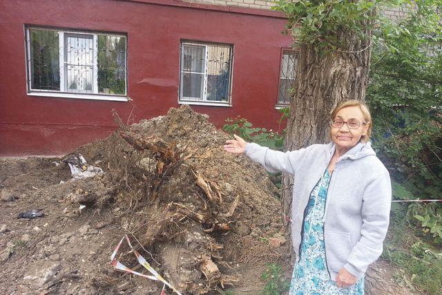 Нелля Яковлева: «Всё перекопали и бросили».