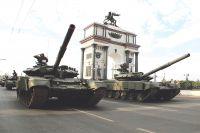 В Курск приехали военные практически со всего Западного округа.