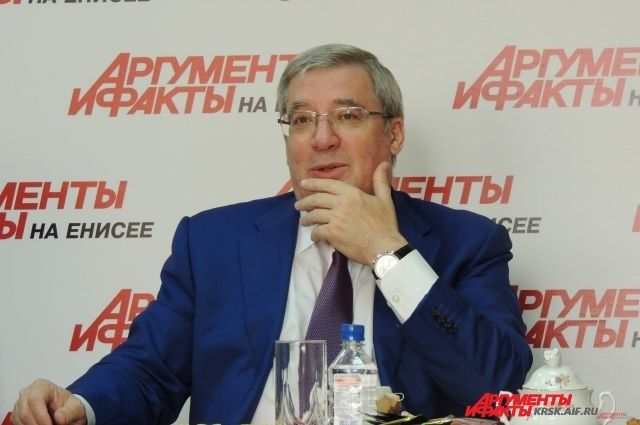 Экс-губернатор Красноярского края Виктор Толоконский занялся исполнительской деятельностью