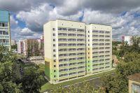 Дом на ул. Судозаводской планировали сдать в IV квартале этого года. Но уже 31 августа жильцы начнут принимать квартиры.
