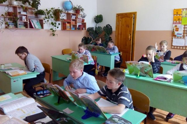 В важгортской школе учатся 56 учеников.