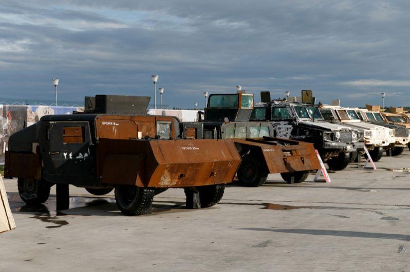 Экспонаты Международного военно-технического форума «Армия-2018» в Кубинке.