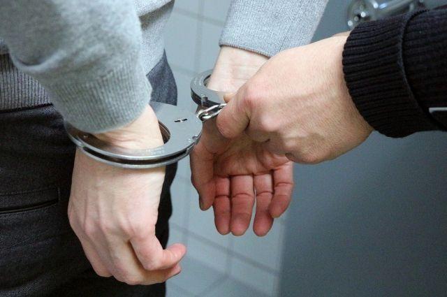 Мужчину задержали в во время проверки документов