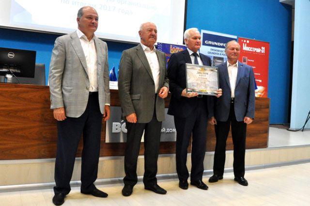 «Завод ЛИТ» стал дипломантом Всероссийского конкурса на лучшую строительную организацию, предприятие строительных материалов и стройиндустрии.