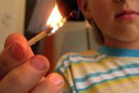 В США ребенок чуть не сгорел живьем.