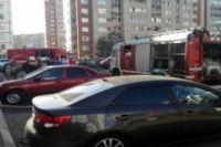 Пожар в Оренбурге в многоэтажном доме на ул. Салмышская ликвидирован.