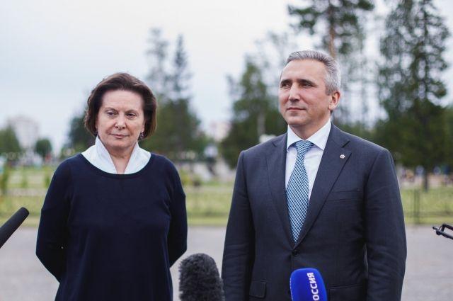 Наталья Комарова и Александр Моор