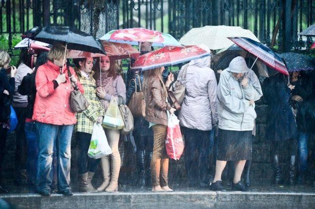 Последние выходные августа наСреднем Урале будут дождливыми ипрохладными