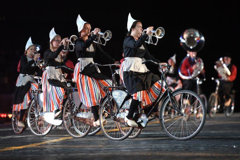 Оркестр на велосипедах «Крещендо» (Нидерланды).