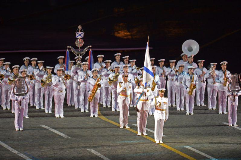 Центральный оркестр Военно-морского флота России.