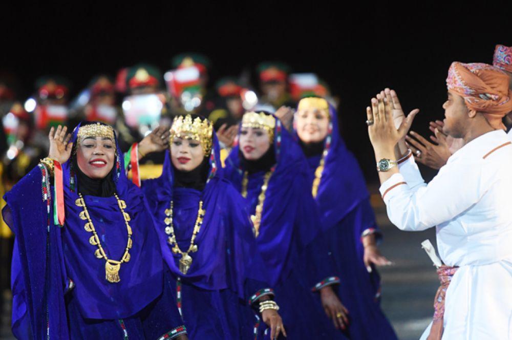 Военный оркестр Королевской гвардии Омана.