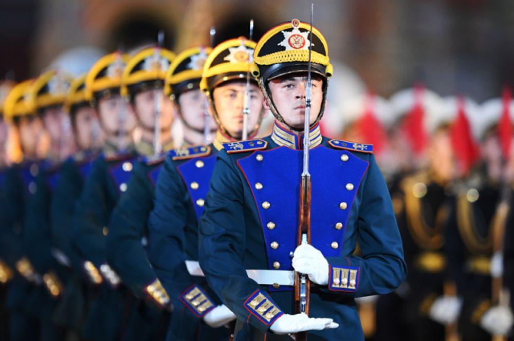 Рота специального караула Президентского полка.
