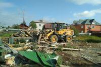 В Салехарде после субботника вывезли 480 кубометров мусора