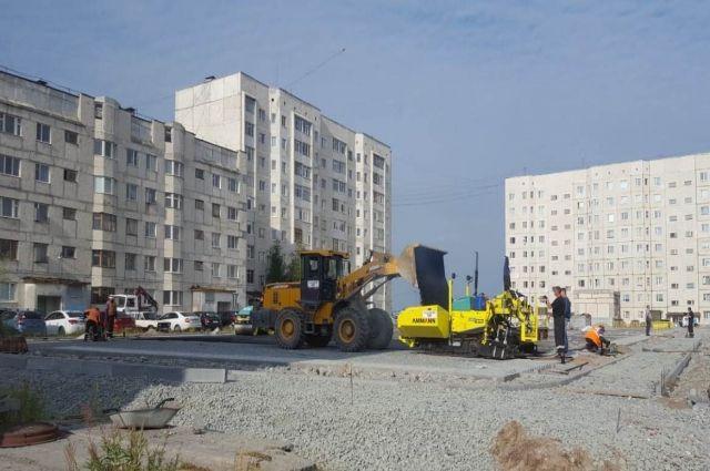 В Надыме девять благоустроенных площадок откроют в сентябре