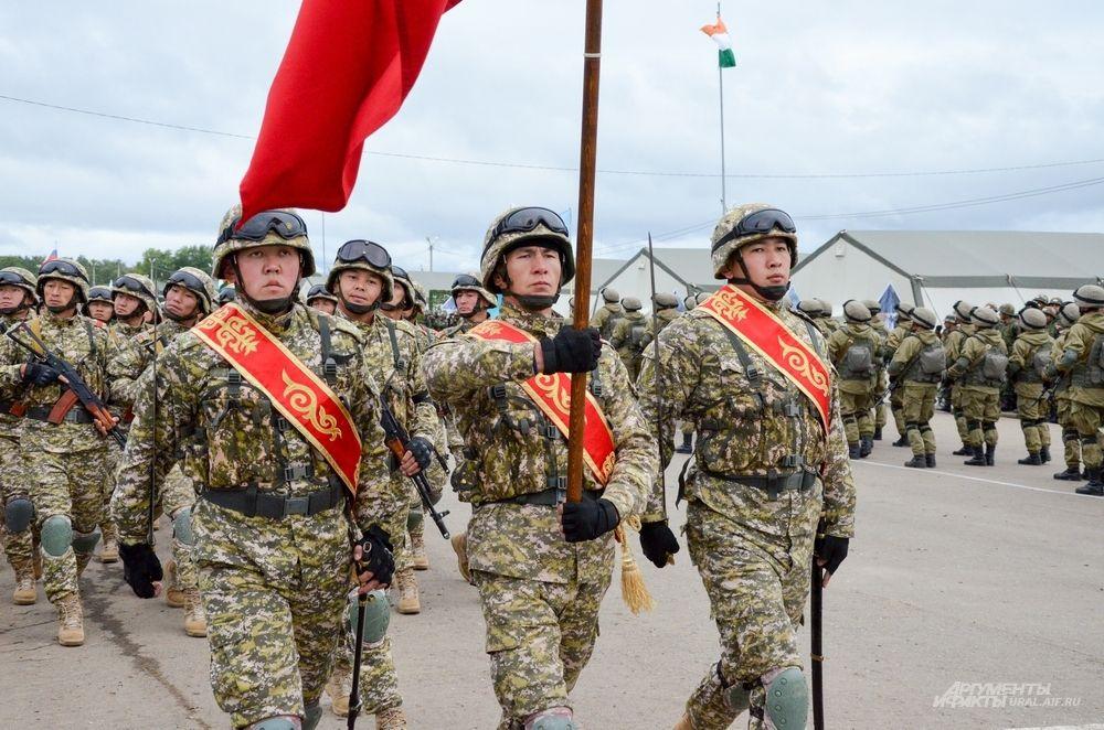 Армия Кыргызстана.