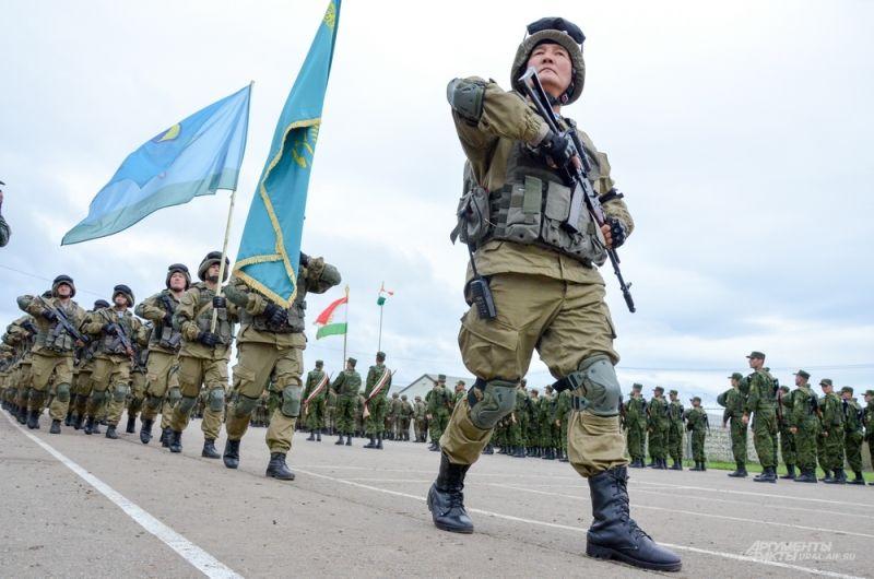 Армия Казахстана.