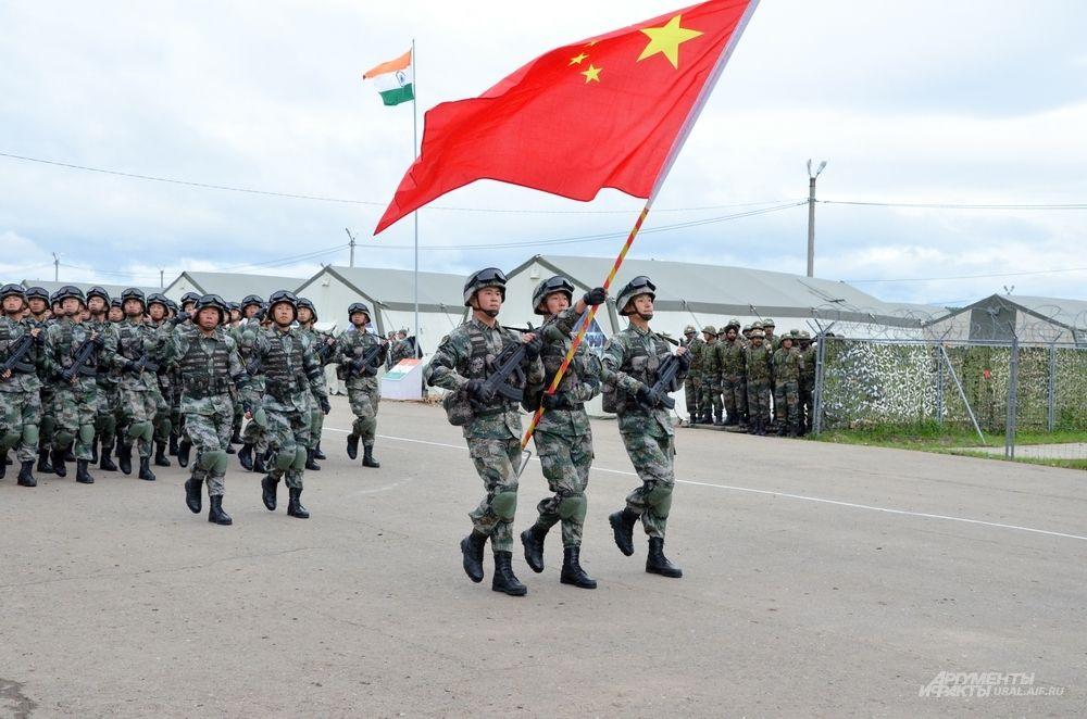 Армия Китайской народной республики.