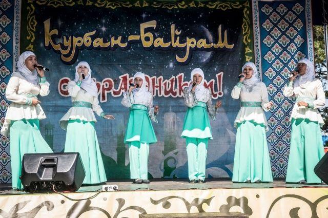 В Тюменском районе отметили Курбан-байрам