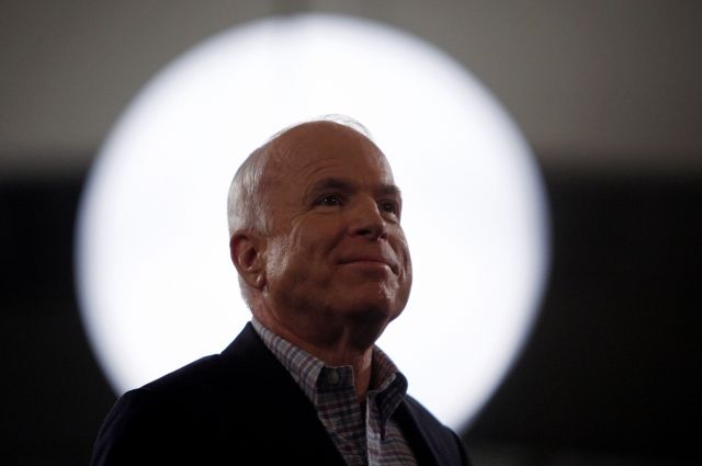 The New York Times узнала детали похорон сенатора Маккейна