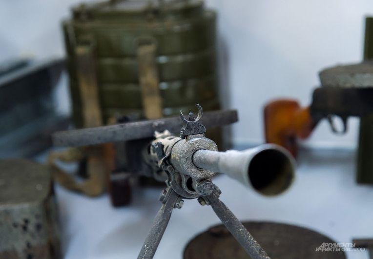 Самый массовый советский ручной пулемет ДП-27 - легендарный «Дегтярь»