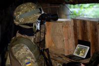 Снайперы «ДНР» ведут огонь по военнослужащим ВСУ из жилых домов, - ООС