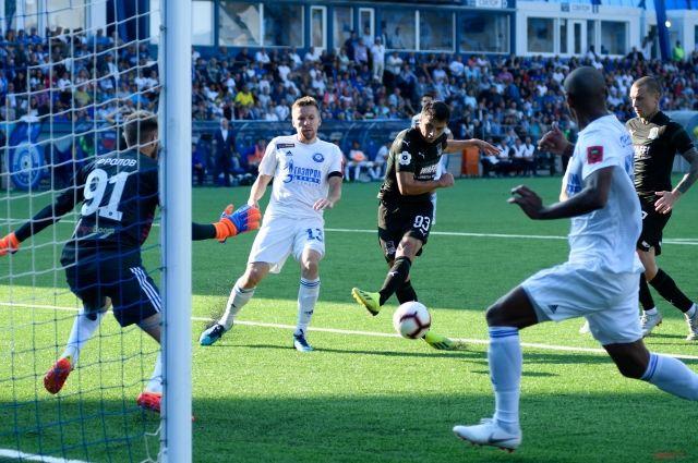 «Оренбург» вконцовке матча прошляпил победу над «Краснодаром»