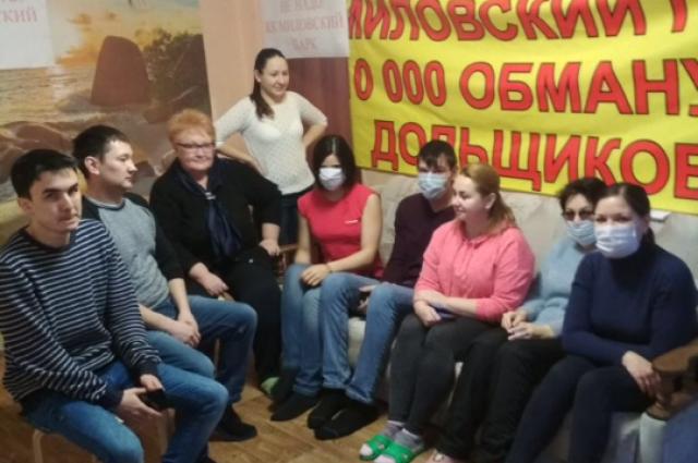 В начале 2018 года дольщики жилого комплекса также устраивали голодовку.