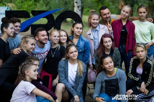 В Оренбурге проходит лагерная смена с участниками телешоу «Танцы».