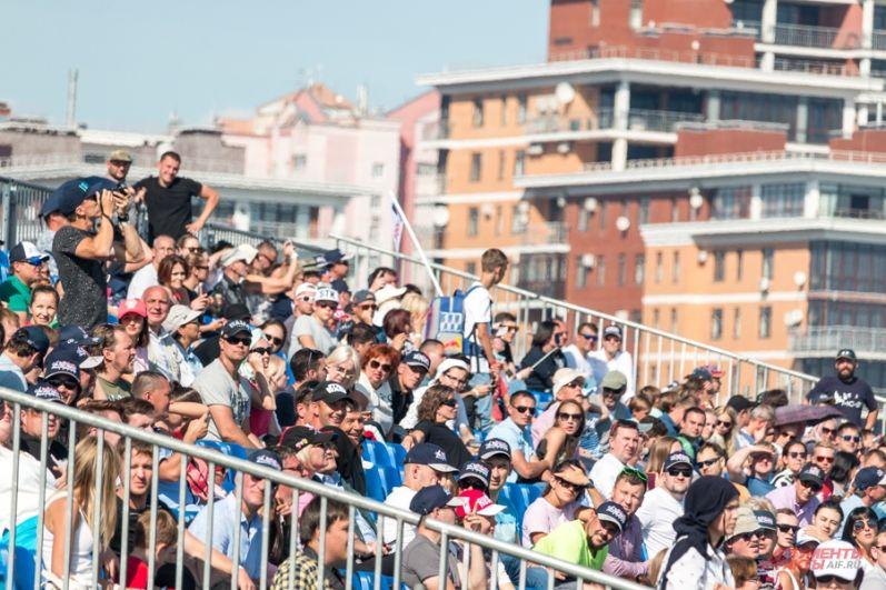 Только в первый день мероприятие посетили около 50 тысяч человек.