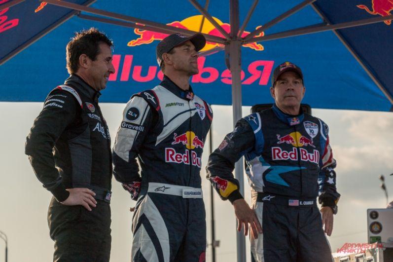 Победителем стал Мартин Шонка (в центре).
