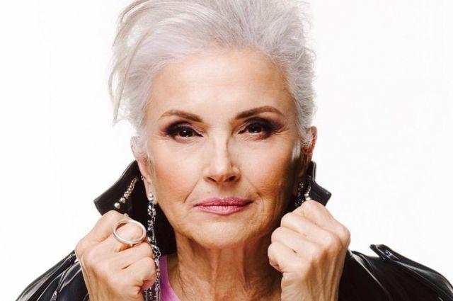 Татьяне Неклюдовой больше 60 лет, и она работает моделью.