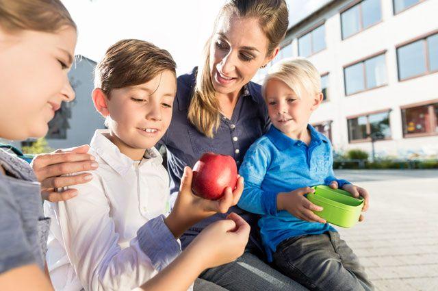 Питание школьника. Чем кормить отличника