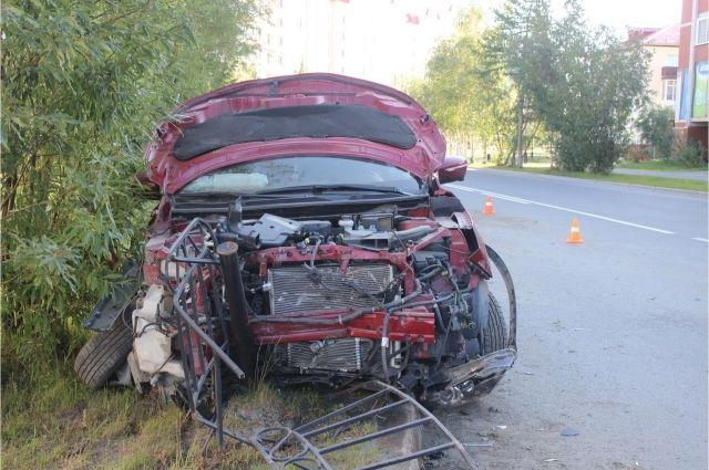 В Салехарде пьяный водитель Nissan устроил четыре ДТП