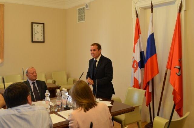 Игоря Алаева избрали единогласно.
