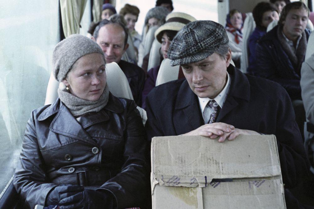 «Осенний марафон» (1979) — Нина Бузыкина.