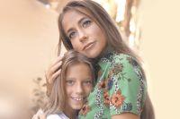 Юлия Барановская с дочерью.