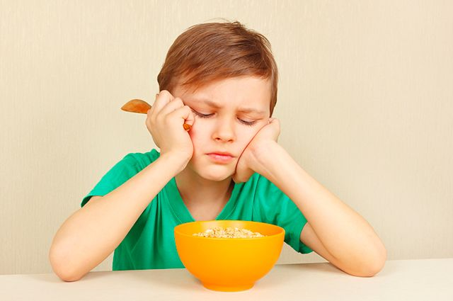 Сколько должен съедать ребёнок?