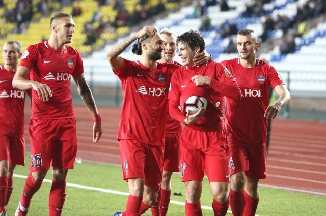 Победный гол забил Михаил Костюков.