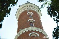 Высота каланчи от основания до наблюдательной площадки - 26 метров.