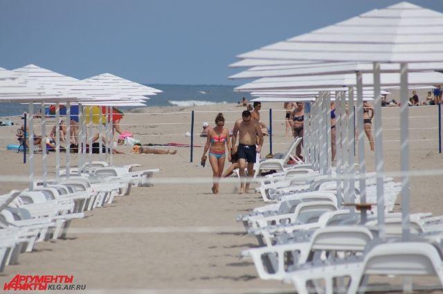 Пляжи России - ничуть не хуже зарубежных.
