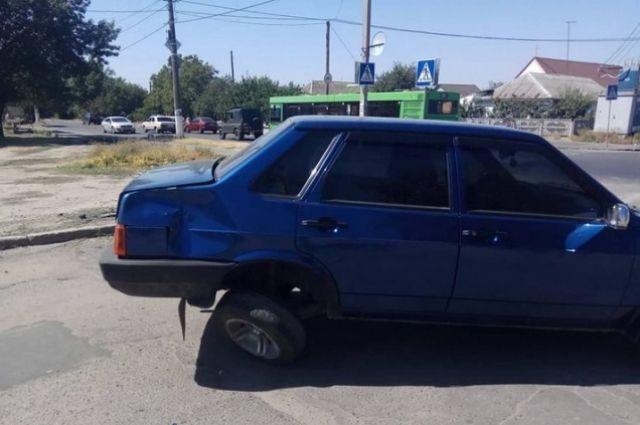 Массовое ДТП в Николаеве при участии автобуса и двух машин