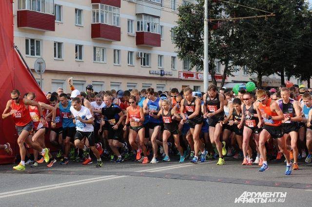 В прошлом году в Пермском марафоне приняли участие 5,5 тысяч бегунов.