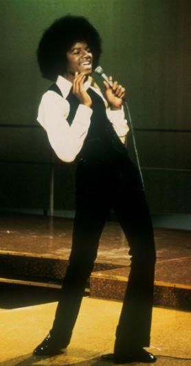 Выступление Майкла Джексона на телеканале Solid Gold, 1975 год, Лос-Анджелес, Калифорния.