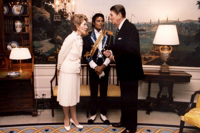 Встреча с президентом США Рональдом Рейганом и первой леди Нэнси Рейган. 1984 год.