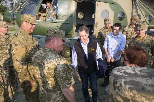 Волкер рекомендует ВСУ приготовиться к отражению танковой атаки на Донбассе