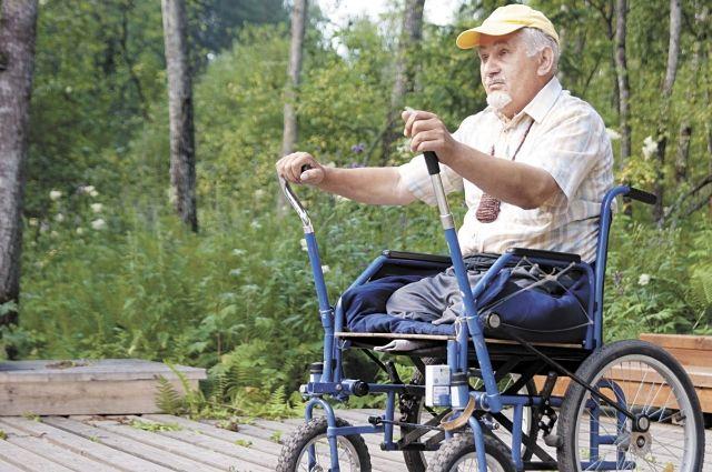 Инвалиды нуждаются в особой поддержке.