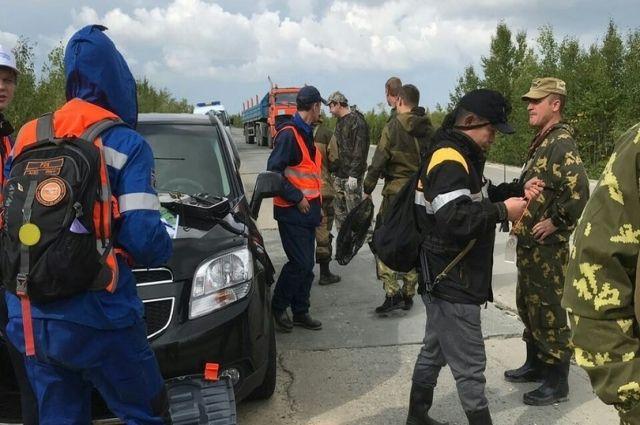 Ямальский отряд «Лиза Алерт» продолжает поиски двоих мужчин