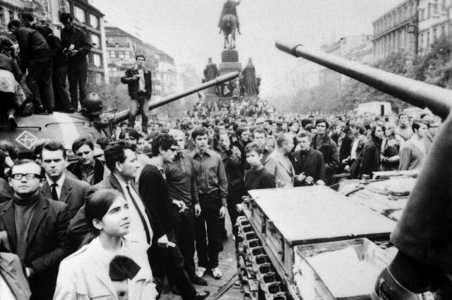 Чехословакия, 1968 г.
